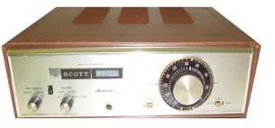 SCOTT 350C TUBE RADIO TUNER