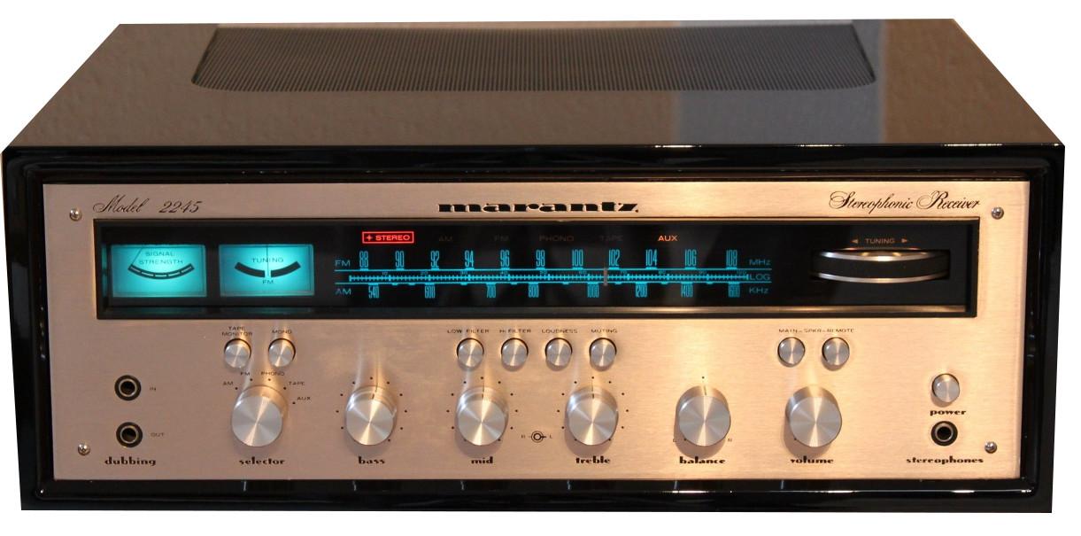 Marantz stereophonic receiver Model 2245, Model 2270