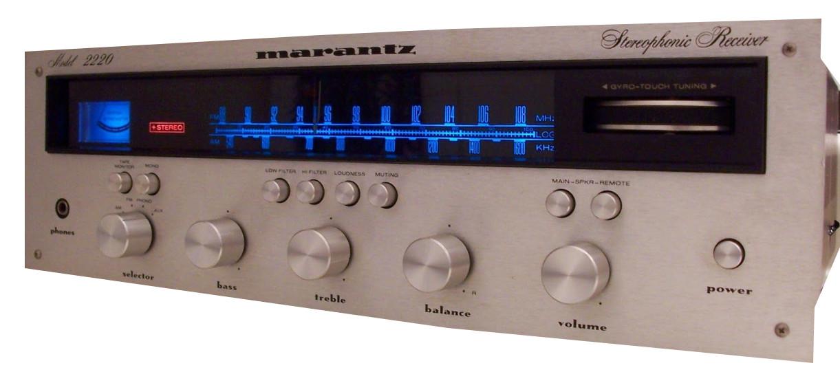 Marantz stereophonic receiver Model 2220, Model 2230